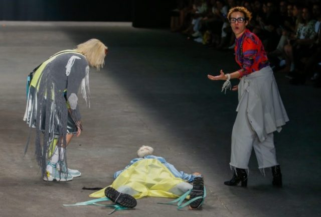 [Video]: Watch as Model slumps and dies on runway