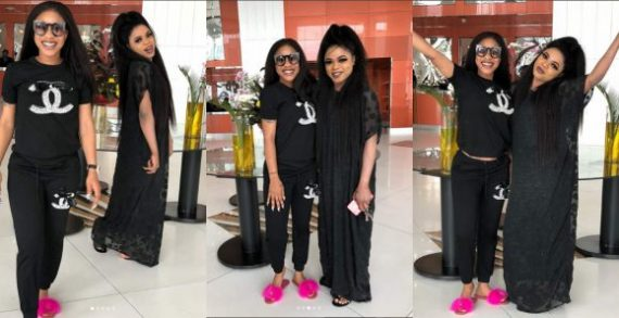 'Pls My Dear Friend Never Allow Anybody Take That Smile You Put On Always From You' - Bobrisky Advises Tonto Dikeh After IG Outburst
