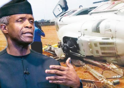 Kogi State government would have been In trouble, if my helicopter crash was fatal,' - VP Osinbajo