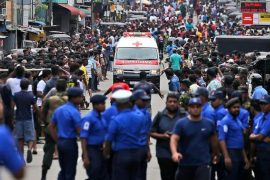 Over 150 dead as bomb goes off in churches and hotels in Sri Lanka