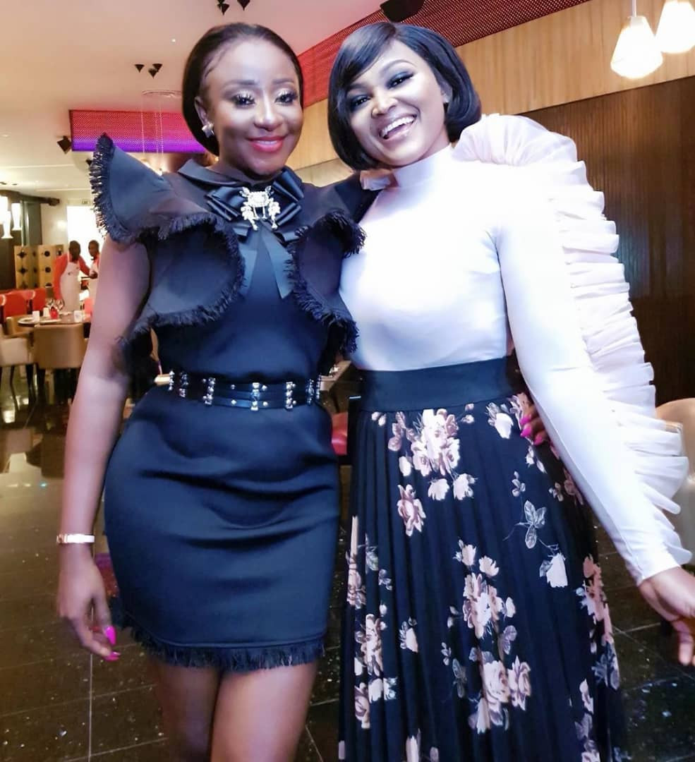 [Photos]: Toke Makinwa, Mercy Aigbe, others attend Ini Edo's birthday party