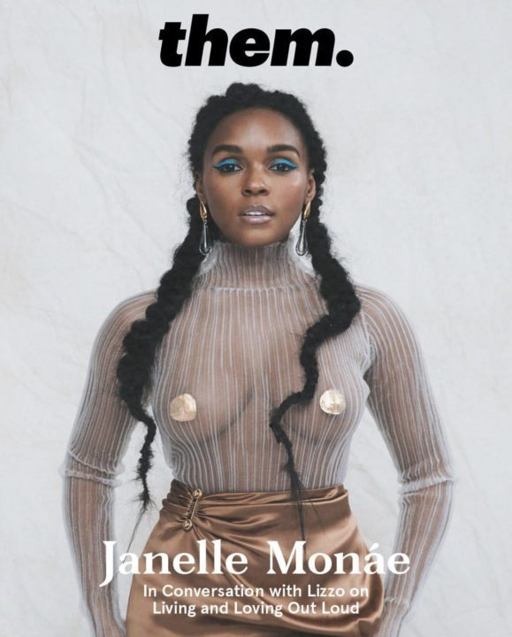 Janalle Monae flashes her boobs in new photos