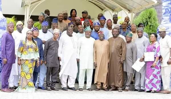 APC LAWMAKERS IN LAGOS