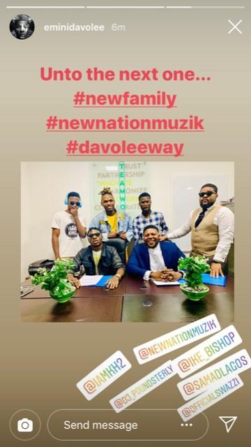 Artist, Davolee Set to Dump YBNL After Two Years - Information Nigeria