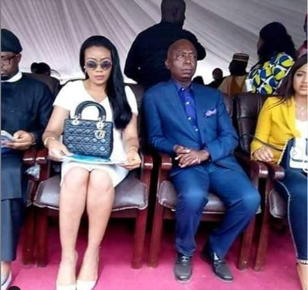 """""""Beauty and the beast"""" Nigerians react to Regina Daniels and Ned Nwoko's first public outing"""