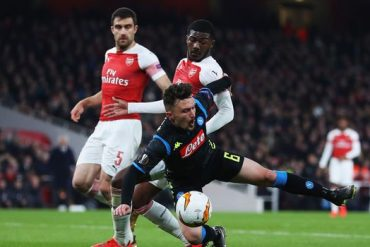 Europa League: Arsenal Go Top Following Hard Fought Draw