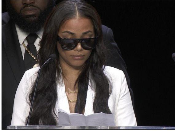 [Video]: Watch Lauren London's emotional tribute to her man Nipsey Hussle at his memorial