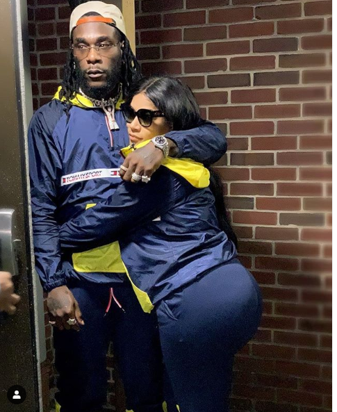 This photo of Burna Boy an his boo Stefflon Don is all you need to see today
