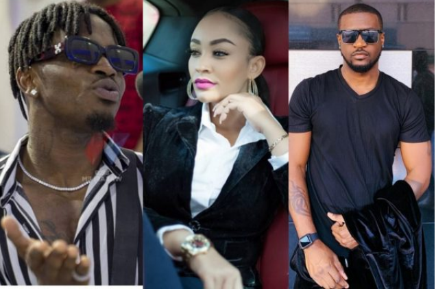 Did Peter Okoye of PSquare sleep with Diamond Platnumz's ex-wife?