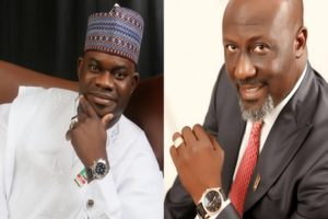 Dino Melaye Yahaya Bello 1 300x200 300x200 - Video: I Will Defeat Yahya Bello And Co – Dino Melaye Brags As He Joins Governorship Race