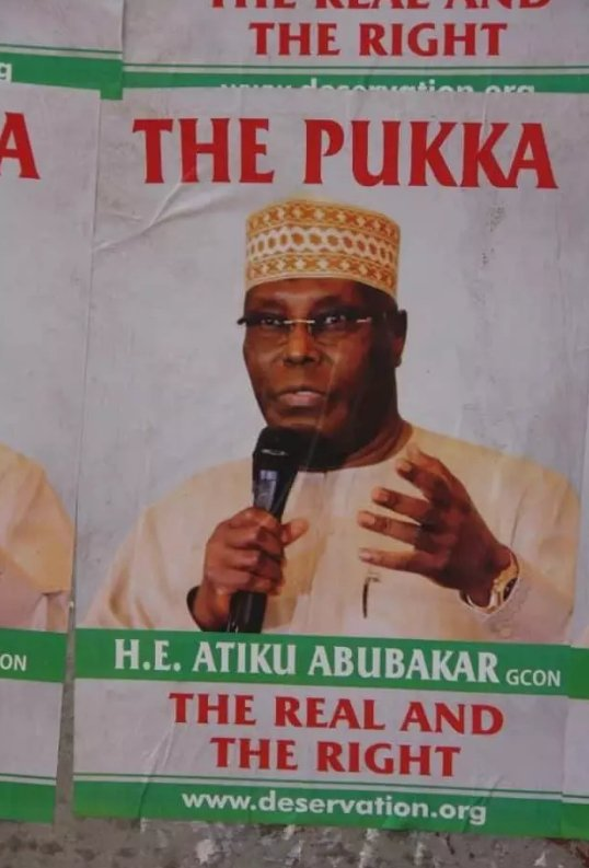 See Atiku's picture that threatened
