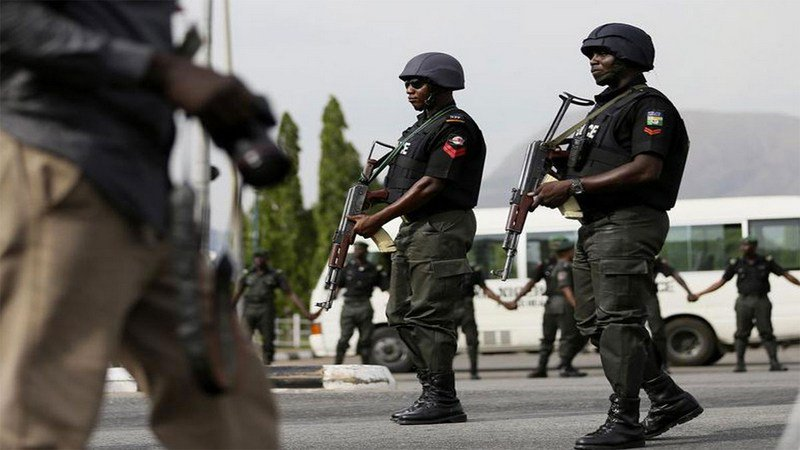 Nigeria Police - Police rescue at least 20 persons from Oyo ritualists den