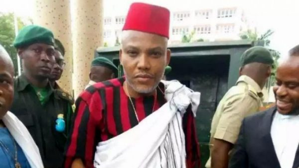 Nnamdi Kanu Condemns Attempt To Arrest Sunday Igboho
