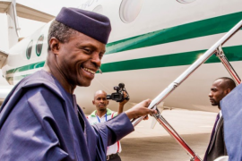 VP Osinbajo Departs Nigeria For Rwanda