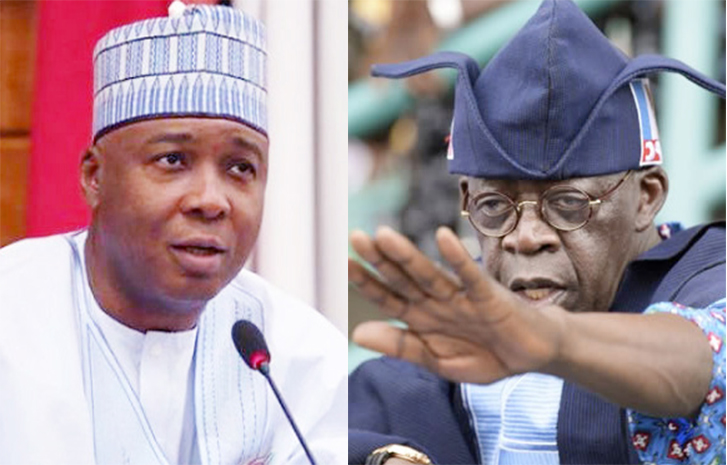 Reactions Trail Saraki's Advise To Tinubu