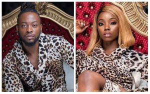 Former BBNaija Housemate, Bambam, And Teddy A Spotted Kissing Passionately