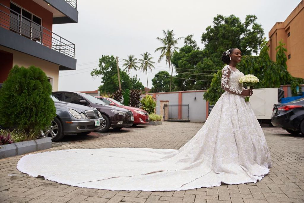 [Photos]: See first photos from TV girl Tomike Alayande's wedding