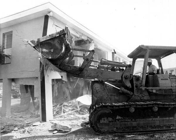 Government Demolish Abuja AIT Building