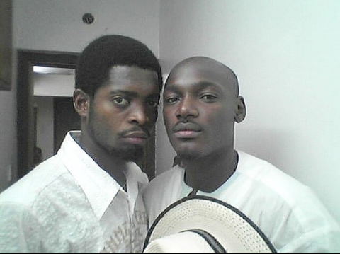 Lol! See the throwback photo of Basketmouth and Tubaba that is causing a stir