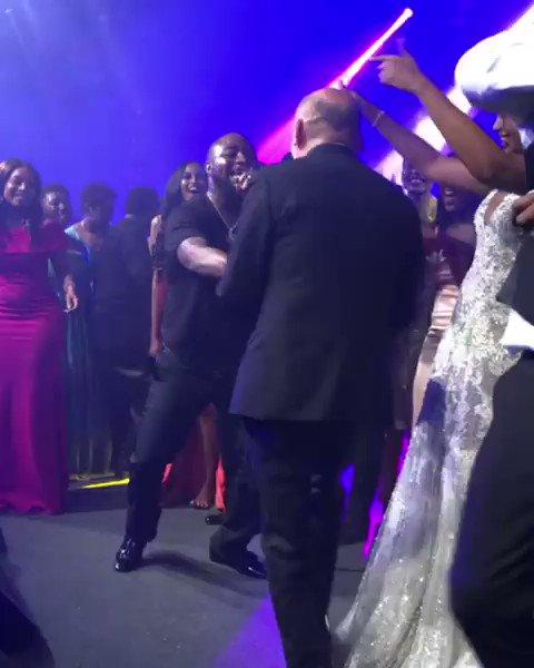 Watch Davido Deliver ''Scintillating'' Performance At Idris Elba's Wedding