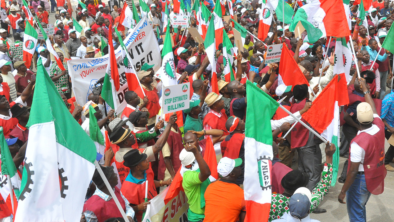 ''The Battle Has Just Started'' - Labour Union Say After Buhari Signs New Minimum Wage
