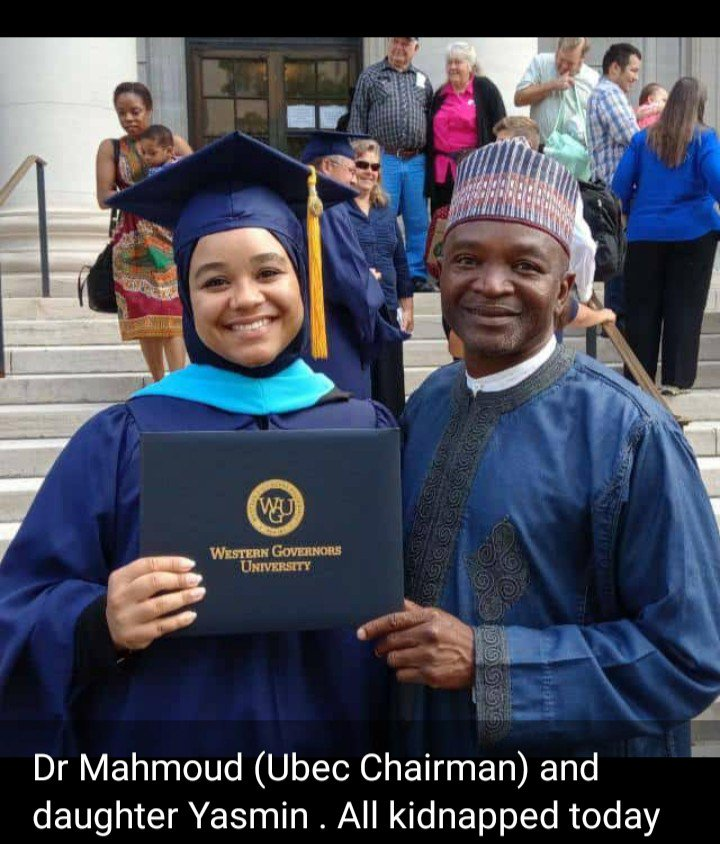 UBEC Chairman, Prof. Mahmood And Daughter Regain Freedom