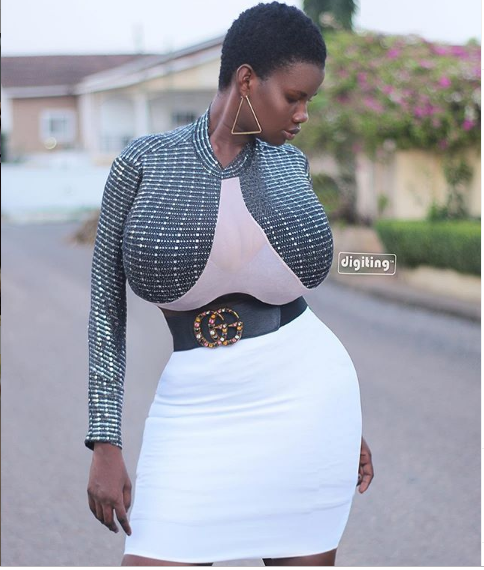Pamela Odame reveals she had one boob at 16