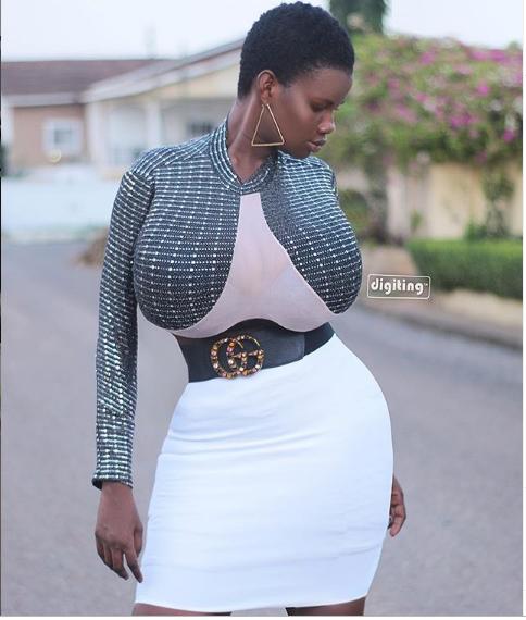 Pamela Odame reveals she had one boob at 16