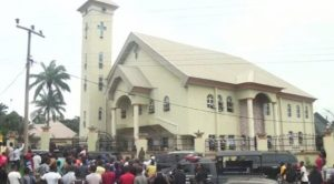 "ozubulu catholic church mass murder 300x166 - Video: ""Why Married Men Must Date Single Ladies"" – Pastor Makes Clarification"