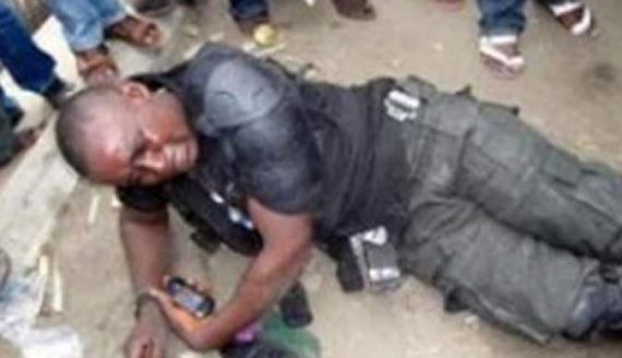 Drama As Soldier Was Beaten To Pulp In Apapa