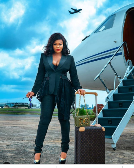 My bae owns a private jet - Daniella Okeke