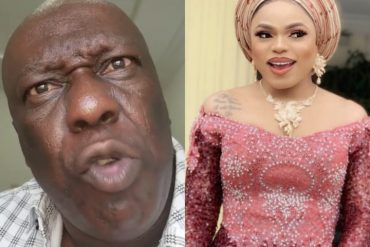 'You are just an overfed frog' - Bobrisky drags veteran actor Charles Awurum