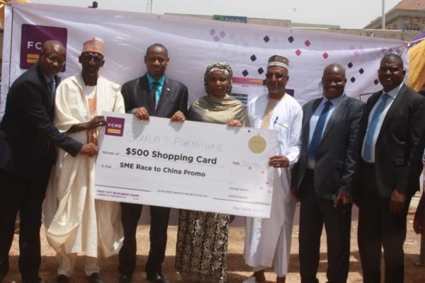 """030C7C6D 7571 474E A05D 8ADB92AB178E 600x400 - FCMB Empowers More SME Customers in Season 2 of """"Race to China Promo''"""