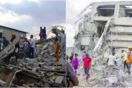 Ibadan: 8 people injured as two-storey building collapses