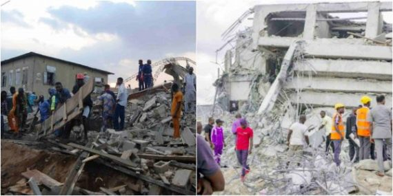 Ibadan: 8 people injured as two-storey building collapses