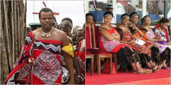 'Marry two wives or face jail term' - King of Swaziland