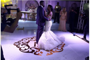 Checkout photos from John Dumelo's white wedding