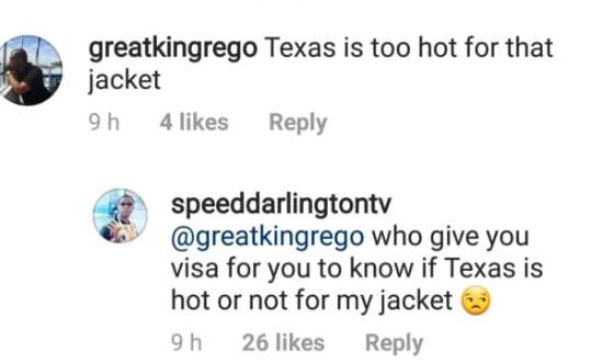 1 29 - Speed Darlington puts nosy fan in his place