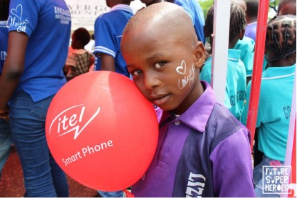 1 34 - Celebrating Our Future Super Heroes: itel Mobile Surprises Children Nationwide On Children's Day