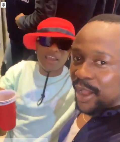 'Your father, dem they crase' - Usebebe gushes over Wizkid in new video