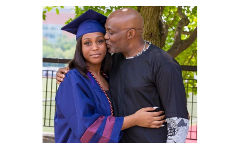 'May you choose what is right over what is popular' -RMD celebrates daughter as she graduates from college