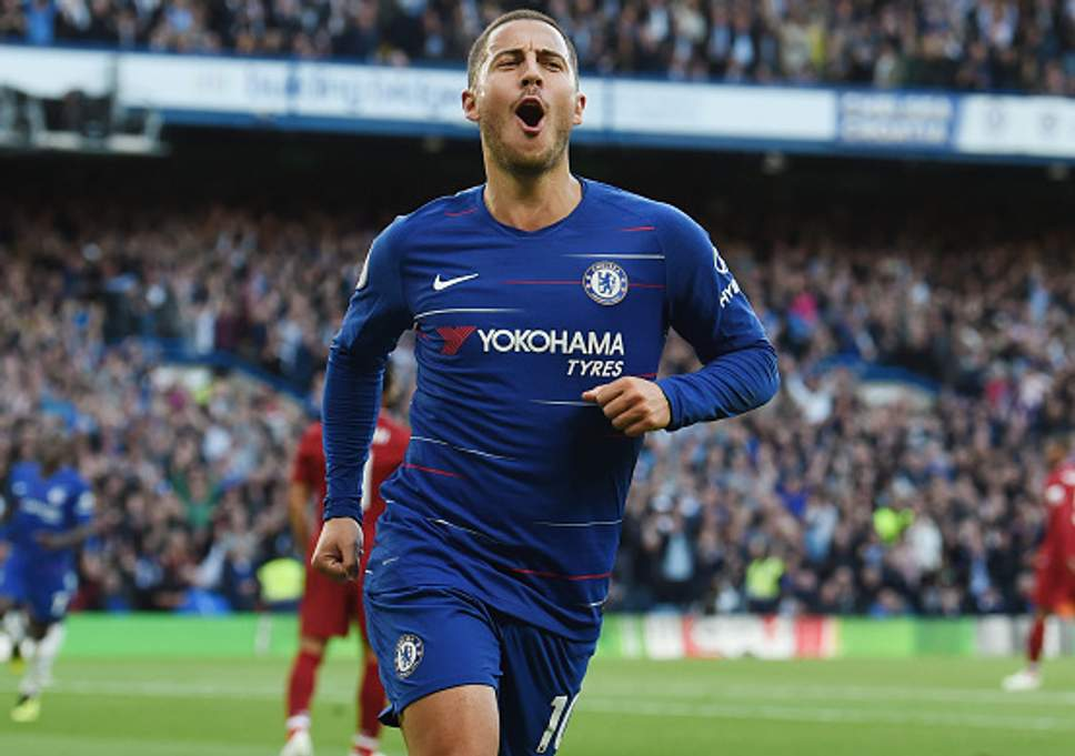 1043028394 594x594 1 - TRANSFER RUMOUR: Jose Mourinho Expects Chelsea's Eden Hazard To Leave For Real Madrid