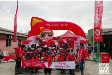 11 2 - Celebrating Our Future Super Heroes: itel Mobile Surprises Children Nationwide On Children's Day