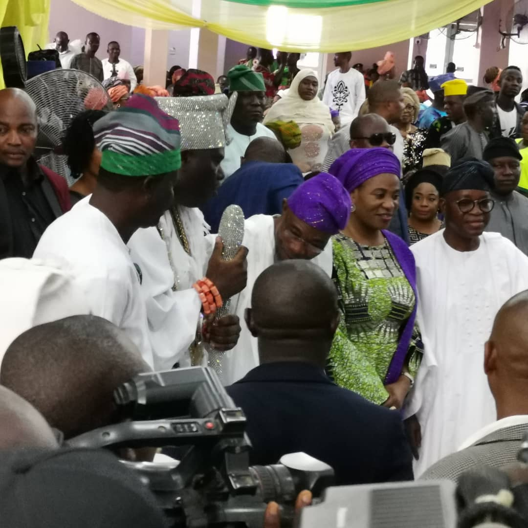 1376dfe7 a415 47ea 968f f6e8850724e9 - [Photos]: Oni Of Ife, Adegboyegha Oyetola, others storm the 62nd birthday event of Rauf Aregbesola