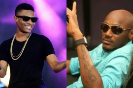 [Video]: Twitter boils over the way Wizkid greeted Tuface at Patoranking's album launch