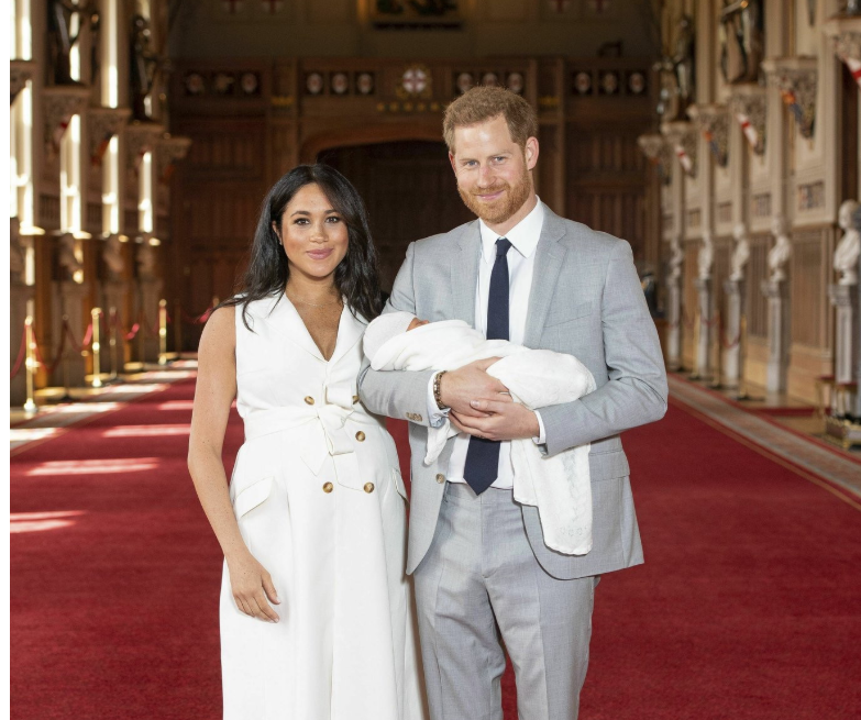 [Photos]: Checkout the first photos of Meghan Markle and Prince Harry's son