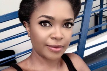Nollywood Actress, Omoni Oboli Suffers A Flat Tyre At 2am