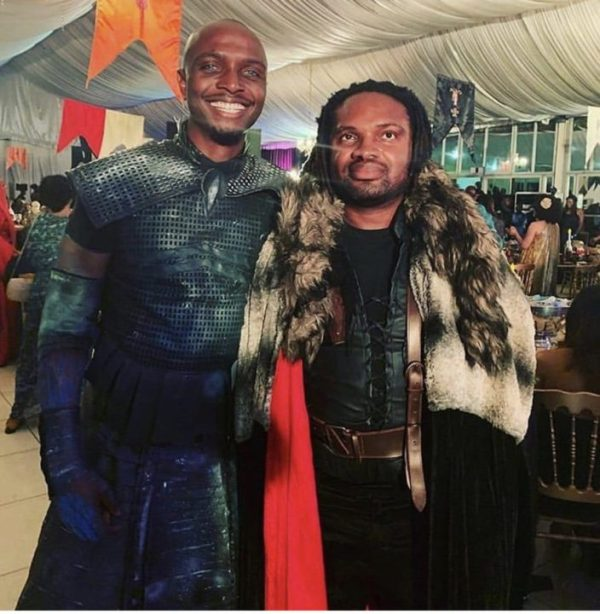 2E8AB881 9764 4DA0 9F34 D9CBD58097F6 - [Photos]: Celebrities storm IK Osakioduwa's Game Of Thrones themed party