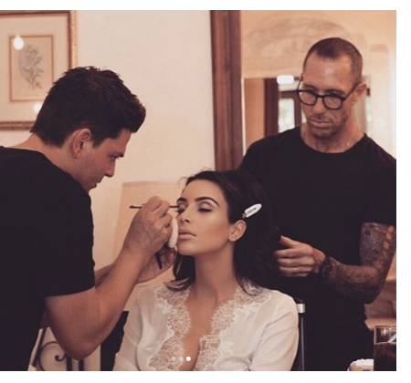 Kim Kardashian releases never before seen photo from her wedding day on her 5th wedding anniversary
