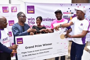 """3AA1B9BF 1C73 4129 8785 D6F81EC6B002 300x200 - FCMB Empowers More SME Customers in Season 2 of """"Race to China Promo''"""